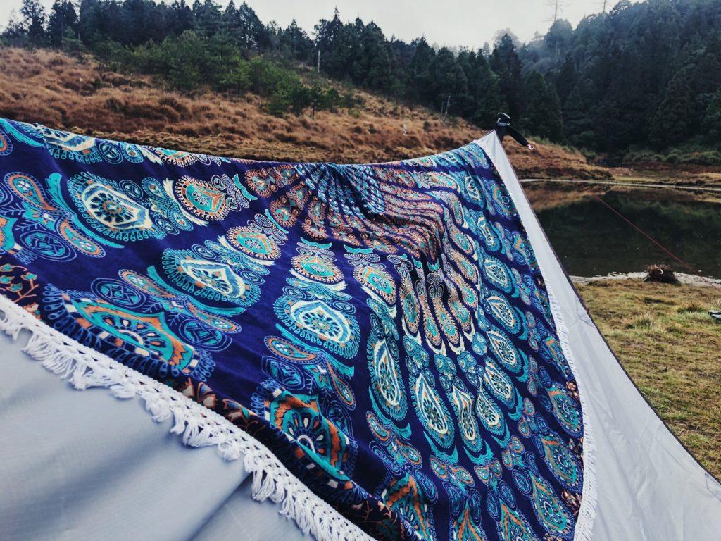 孔雀毯圓 露營1