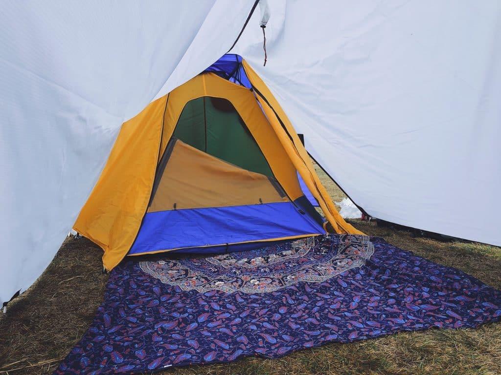 孔雀毯 露營