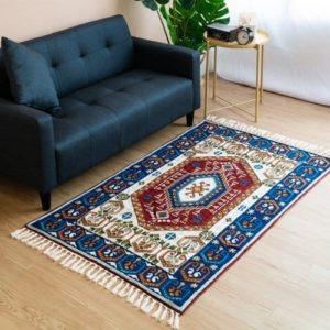 喀什米爾圖騰地毯